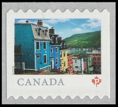 Canada 3057 Far & Wide Jellybean houses 'P' single (from coil of 5000) MNH 2018
