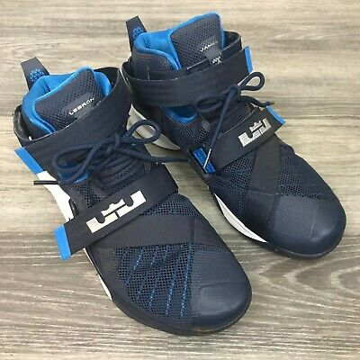 6d03f13d3c2 Nike LeBron Soldier IX Mens Basketball Shoes 749498 402 Blue Men Size US  11.5