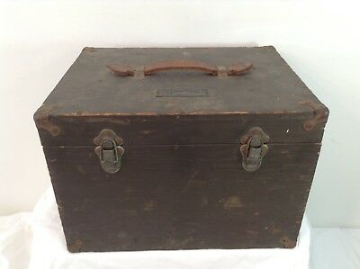 U.S. Army Air Corps Astrograph Wood Case Type A-1 Vintage Antique