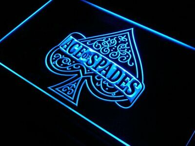 s214-b Ace of spades casino poker New Neon Light Sign