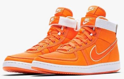 premium selection 6a6c6 cbfa2 Back To The Future Doc. Brown Nike Vandal High Supreme Shoes Orange   Size