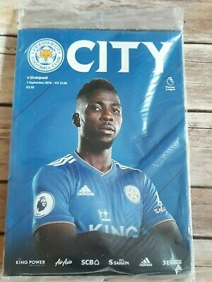 Leicester City LCFC v Liverpooll LFC Match day Programme 01 Sept 2018  2018/2019
