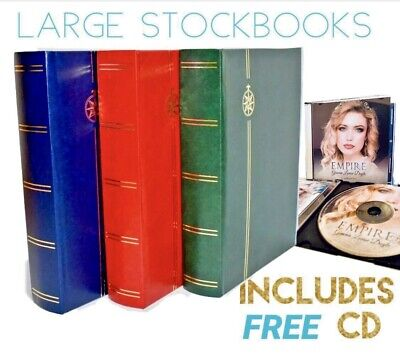 **⭐️ SPECIAL OFFER ⭐️**  FREE CD WITH ANY LARGE STAMP STOCKBOOK (64 Page)