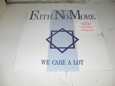Faith No More We Care A Lot Withdrawn Unauthorized RSD version White vinyl!