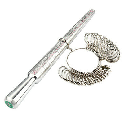 Useful Ring Mandrel Steel Shaping Forming Hammering Jewellery Craft Tool Set