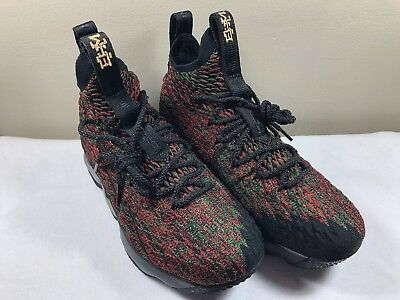 1e85c71729a55 Nike Lebron XV Kids Youth Size 6.5Y Black History Month Womens 8 943762-900