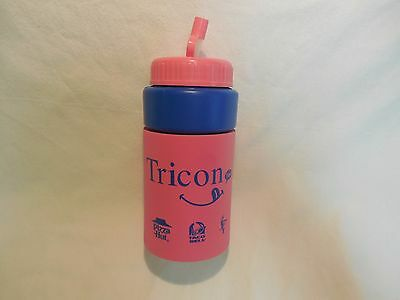 Yum Brands Tricon Koozie Sippy Cup Pizza Hut Taco Bell KFC Straw Koozy Advertise
