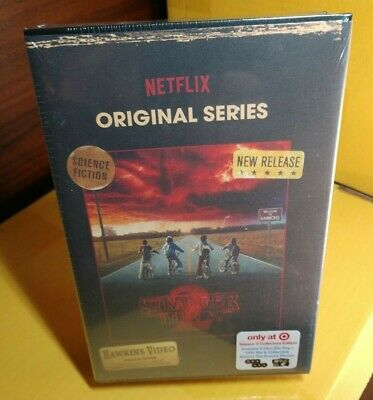 Stranger Things 2 (Blu-ray & DVD Target Exclusive VHS Packaging)NEW-Free Shippin