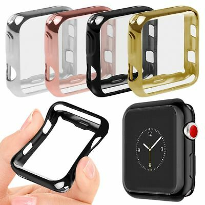 Apple Watch iWatch Series 3 2  protector Cover Case Screen Protector 38mm 42mm