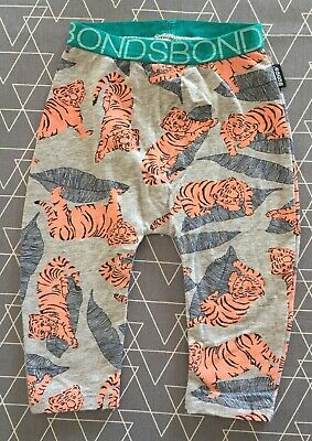Bonds Baby Boys Tiger Leggings Pants 3-6 Months 00