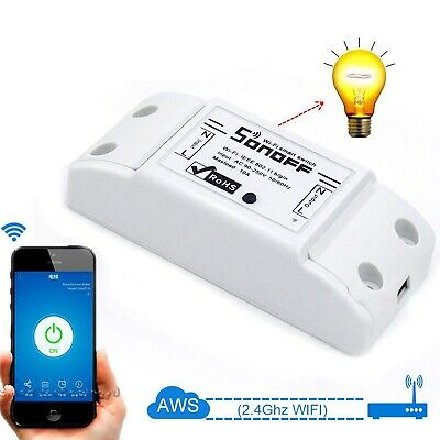 Sonoff Smart Home WiFi Switch Module IOS Android APP Wireless Remote Control