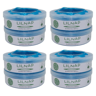 Lilnap - 8 Ricariche Mangiapanolini Sangenic Tommee Tippee & Tec