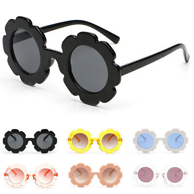 Toddlers Children Kids Sunglasses UV400 Flower Girls Boys Eyeglasses Goggles AU