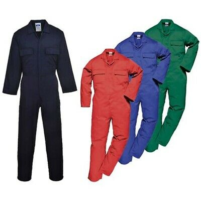 Portwest S999 Euro Overall / Boiler Suit Bottle Green M