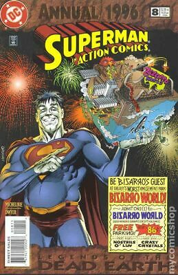 Action Comics (DC) Annual #8 1996 FN Stock Image