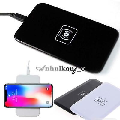 For Apple iPhone 8 / 8 Plus / X / XR Fast Qi Wireless Charger Charging Dock Pad