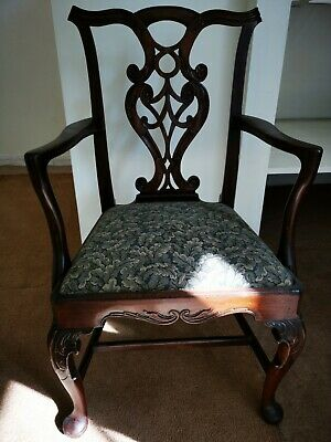 19th century Chippendale style chair
