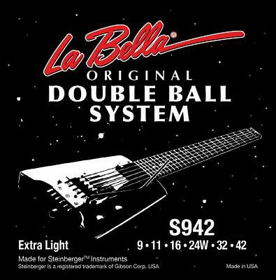 La Bella Bass Saiten 40-095 Double Ball Steinberger Headless 4saitig