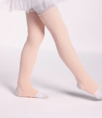 Leg warmers - Childs Size -40cm - Ballet Pink . Same Day Priority post