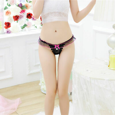 Women Sexy Lace G-string Briefs Underwear Panties Lingerie Thongs Knickers new