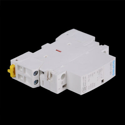 2P 25A 220V/230V 50/60HZ Din rail Household ac contactor 2NO MD