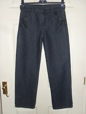 Girls' Blue Denim Jeans By Cherokee Age 10-11 Years Excellent Condition