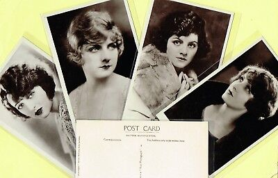 PICTUREGOER - MAIN Series 1920s Silent Film Star Postcards #38 to #76