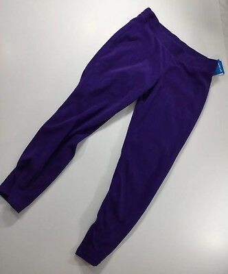 Columbia Girls XL Glacial Legging Purple Solid Fleece 18-20 Youth
