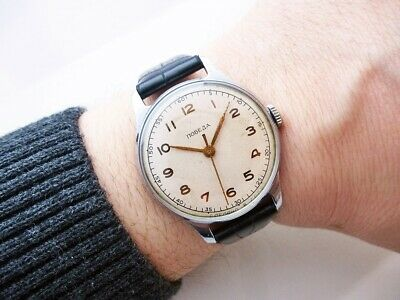 Nice Rare Russian Kirova Pobeda Vintage Wristwatch From 1950's!
