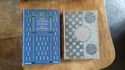 Antique Books by Mrs Molesworth 'The Cuckoo Clock' & 'Grandmother Dear'