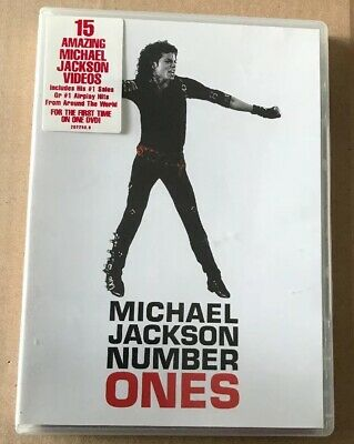 Michael Jackson - Number Ones 15 Trk Very Rare Australian Edition Dvd Thriller.,
