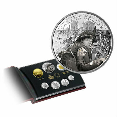 75Th Anniversary Of D-Day – 2019 Special Edition Fine Silver Dollar Proof Set