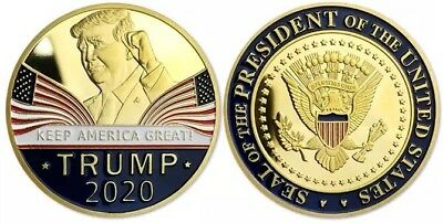 NEW US President Donald Trump Keep America Great 2020 Challenge Coin
