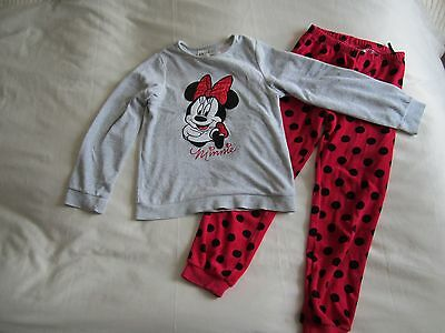 H&M Velour Girls Pyjamas, Size 6-8 yrs