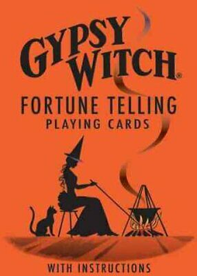 Gypsy Witch Fortune Telling Playing Cards 9780880790413 | Brand New