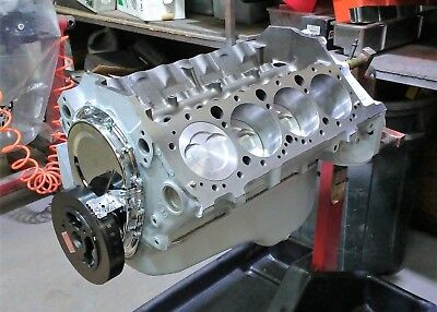 CHEVY 383 STROKER Short block Engine / Motor with Eagle Rods