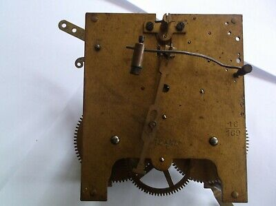 Mechanism  From An Old  Mantle Clock  Spares/Repair Ref An 49