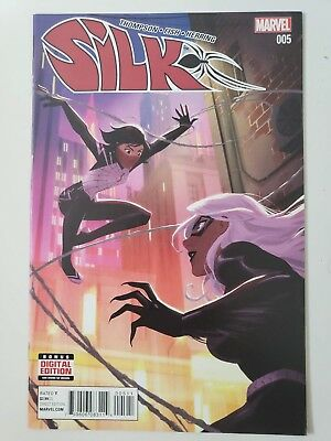 Silk #5 (2015) Marvel Comics Robbie Thompson! Veronica Fish Art! 1St Print! Nm
