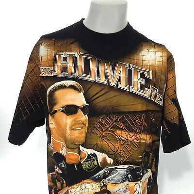 NASCAR The Home Depot CHASE AUTHENTICS Adult Large TONY STEWART Graphic Tee EUC