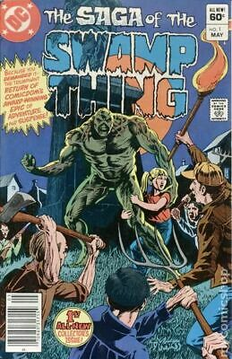 Swamp Thing (2nd Series) #1 1982 VF Stock Image