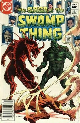 Swamp Thing (2nd Series) #4 1982 FN Stock Image