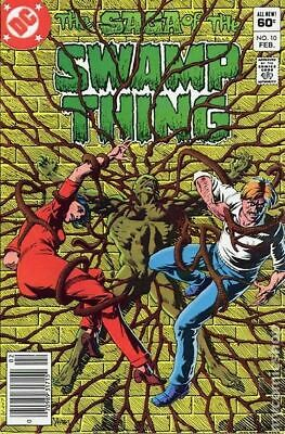 Swamp Thing (2nd Series) #10 1983 FN Stock Image