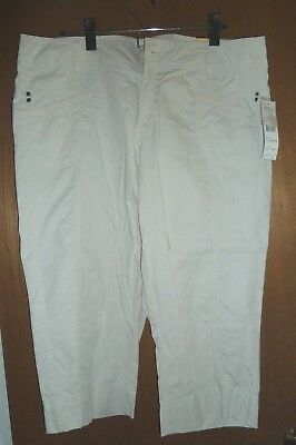Women's Mid-calf Pants by TRIBAL  'Favorite'...Tan...Size 14.... New/w Tags..