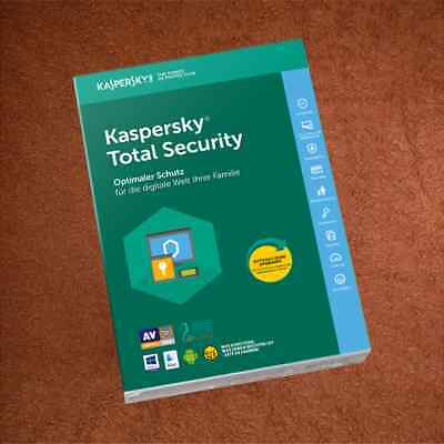 KASPERSKY TOTAL SECURITY   3PC  für  2019 / 2020
