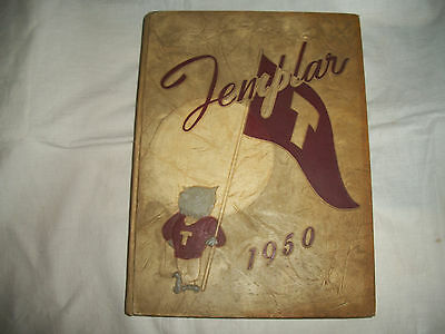 Vintage 1950 Templar Temple University Philadelphia, Pa Yearbook
