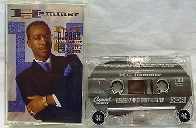 M.C. Hammer-Please Hammer Don't Hurt 'Em-Cassette-1990-U Can't Touch This + More