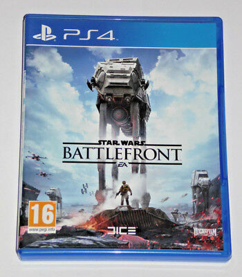 Sony Playstation Ps4 Game Star Wars Battlefront Psvr Added Now Lucas Film Dice