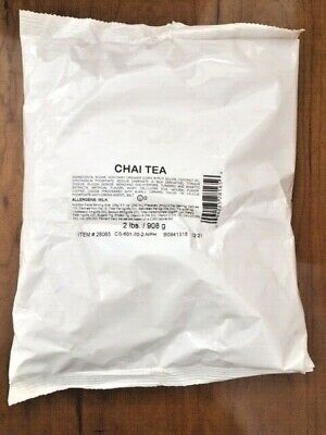 White Bear Coffee  Chai Tea m 12 Pounds (6 x 2 Pounds)
