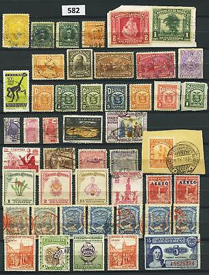 Dealer Dave Stamps  LOT/COLLECTION COLUMBIA, PANAMA, COSTA RICA (lot #582)