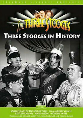 The Three Stooges - The Three Stooges In History (DVD, 2003) - Disc Only